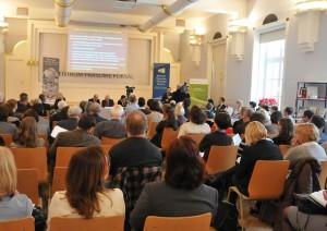 Dom Dziennikarza przy ul. Foksal w Warszawie - konferencja Instytutu