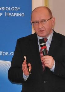 Prof. Henryk Skarżyński - konferencja Instytutu