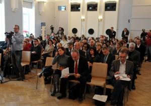 Domu Dziennikarza przy ul. Foksal w Warszawie - konferencja Instytutu