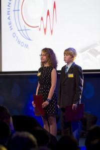 Występy artystyczne podczas uroczystości otwarcia Światowego Centrum Słuchu