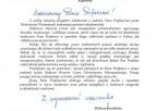 Gratulacje Elżbieta Smolińska