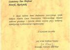 Gratulacje: Waldemar Narożny