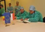 Vasile Cepoi Minister Zdrowia Rumunii zwizytą wKajetanach