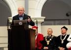 Przemówienie profesora Henryka Skarżyńskiego