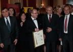 Profesor Henryk Skarżyński wotoczeniu dyrekcji IFPS