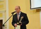 Prof. Henryk Skarżyński podczas przemówieani
