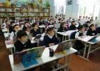 Uczniowie wklasie