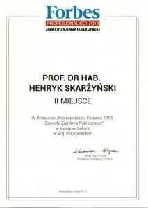 Dyplom Forbsa
