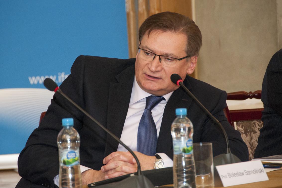 Prof. Bolesław Samoliński