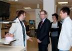 Wizyta Dziekana Szkoły Medycznej Uniwersytetu Stanford zKalifornii