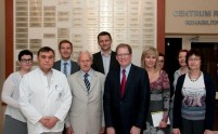 Wizyta Dziekana Szkoły Medycznej Uniwersytetu Stanford z Kalifornii