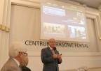 Prof. Skarżyński podczas prezentacji