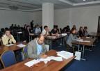 Uczestnicy warsztatów podczas wykładów