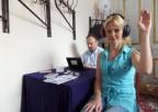 Festiwal Nauki wJabłonnie - badanie słuchu