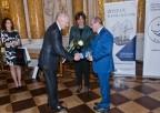 "Professor Henryk Skarżyński decorated with a ""Special Icebreaker"" award"