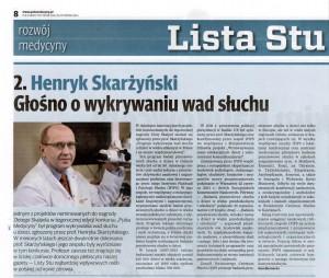 Artykuł wPulsie Medycyny