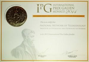 Gold Medal – Galien International Award