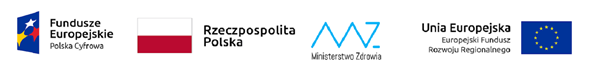 logotypy FE-WER, RP, EU