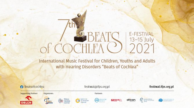 """7th International Music Festival for Children, Youths and Adults with Hearing Disorders """"Beats of Cochleaˮ"""