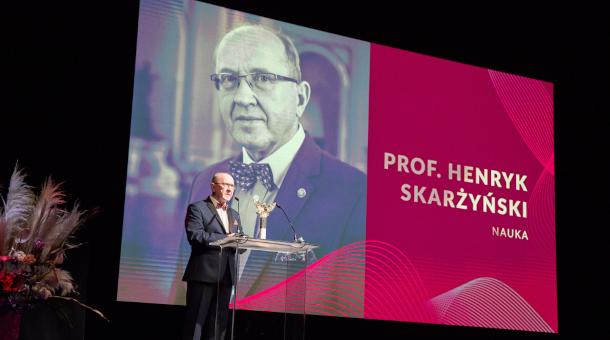 """Prof. Henryk Skarżyński laureatem Orła stulecia """"Rzeczpospolitej"""""""